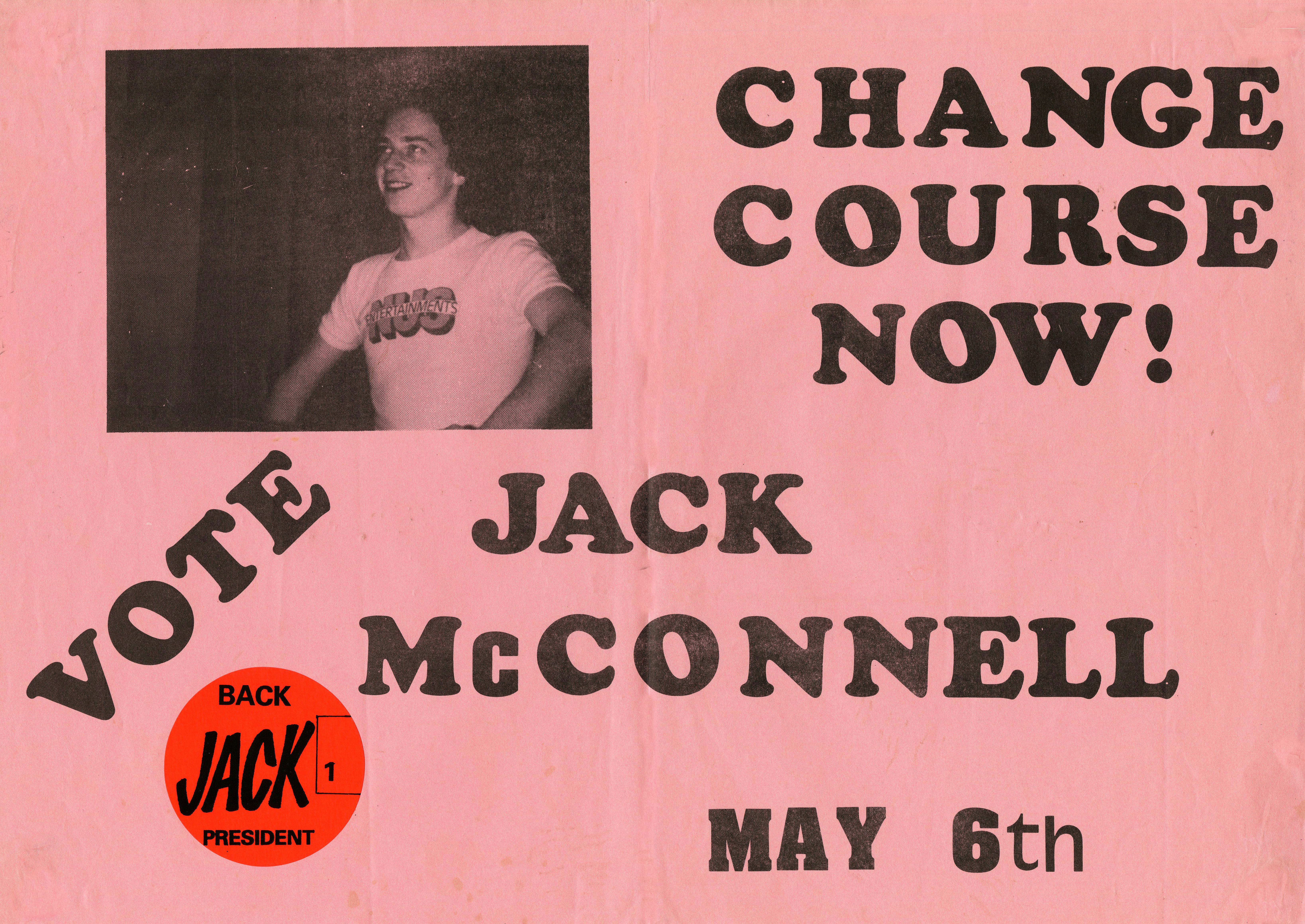 student president poster
